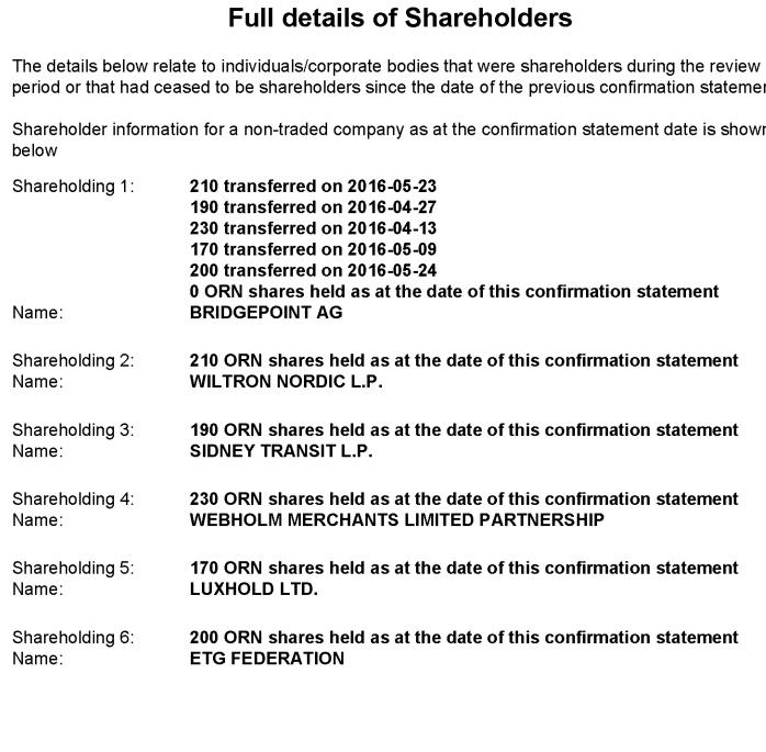 CC Shareholders