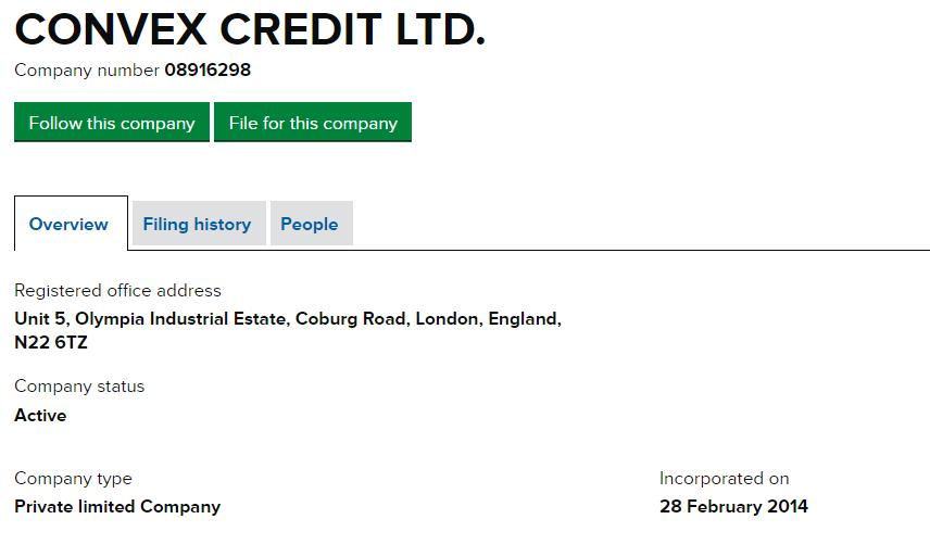Convex Credit