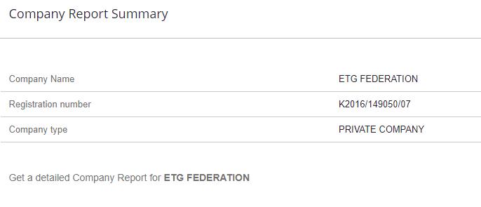 ETG Federation